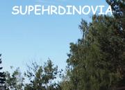 Superheroes school sky logo