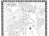 权力的游戏-北方地图