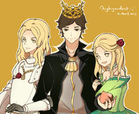 Loras Renly and Margaery by唐朝栗子