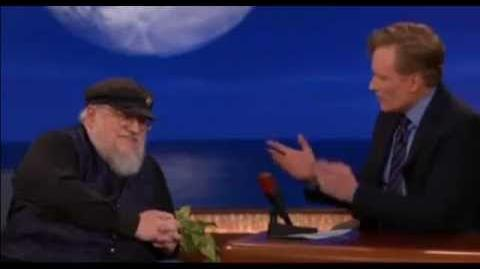 George R.R. Martin Conan Interview - Game Of Thrones Conversation (10 minutes full)