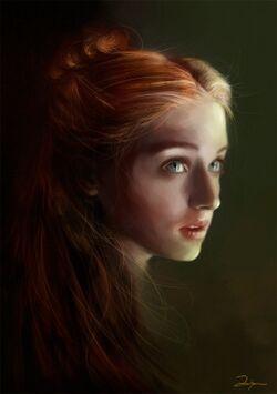 Sansa Stark by AniaEm