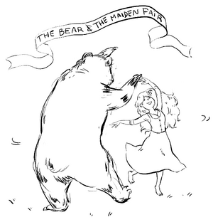 Bear and maiden