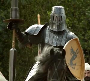 Gregor Clegane Jousting