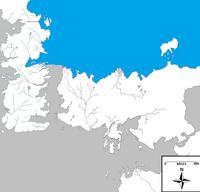 Shivering sea map