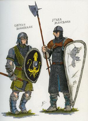 Bannermen sketch i by tribemun