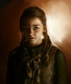 300px-Arya Stark by AniaEm