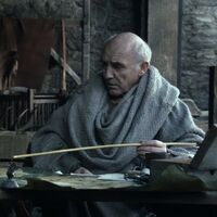 Maester Luwin HBO