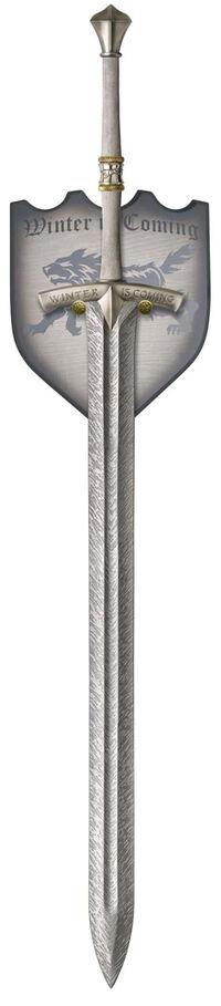 Sword-on-plaque