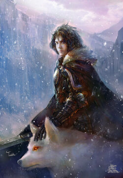 Jon snow by teiiku-d4byeuq