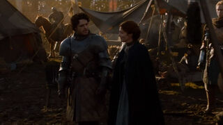 Robb Talk With Catelyn