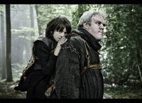 Bran Stark and Hodor HBO