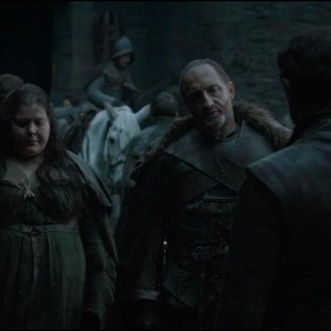 拉姆斯和他的新继母瓦妲见面