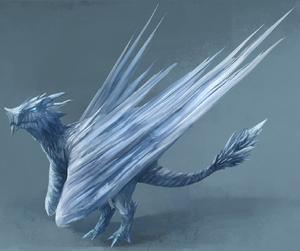 Ice Dragon (detail)