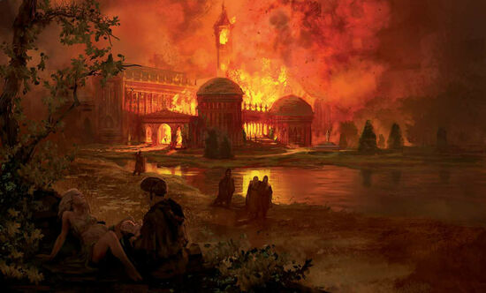 Marc Simonetti The fire at the summer palace