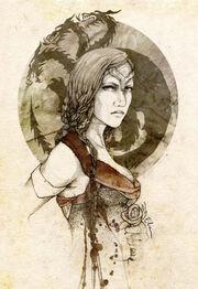 Visenya targaryen by daenerys mod-d4gxqj9