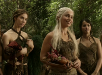 Daenerys and handmaidens