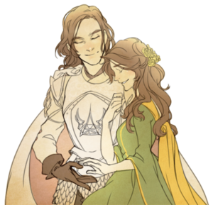 Loras and Margaery byAna