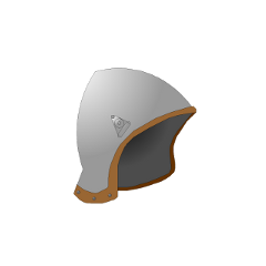移除了面甲的中头盔