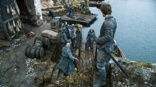 Theon Mocked By Ironborn