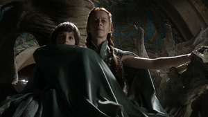 Lysa and Robert Arryn