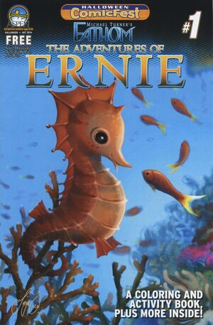 Adventures of Ernie 01 Cover A
