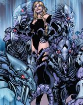 Carla arrives with her horde of Strikers.