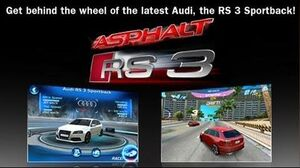 Asphalt Audi RS 3 - Want to win an Audi for free? - iPhone iPod touch