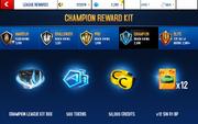 R1 CHMP League Rewards