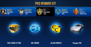 Peugeot SR1 Pro League Rewards