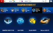 Octane 1 Champion League Rewards