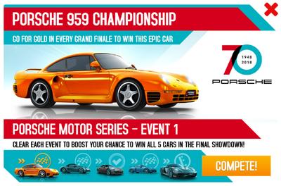 Porsche 959 Championship 70th Anniversary Promo