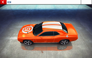 AWDC Challenger decal