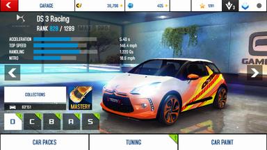 DS 3 Racing stock