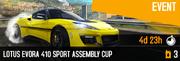 Evora 410 BP Cup