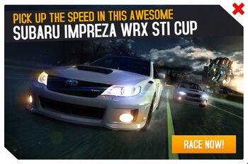 Subaru Impreza WRX STI Cup