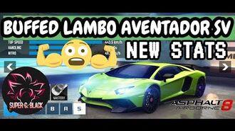 "Asphalt 8 Lamborghini Aventador SV ""NEW STATS"" ANNOUNCEMENT SOME EXTRA INFORMATION 🤔-1"