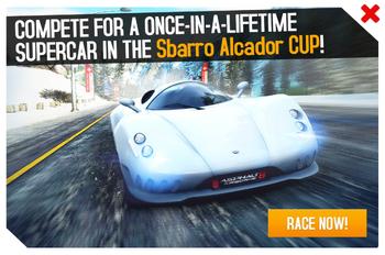 Sbarro Alcador Cup ad