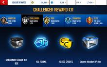 Alcador Challenger League Rewards