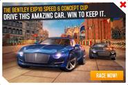 Bentley EXP10 Speed 6 Cup