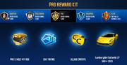 Lamborghini Gallardo Pro League Rewards