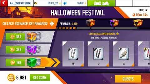 Halloween Festival Claiming engines and other prizes..🤑🤑