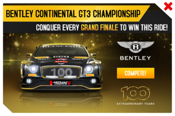 Bentley Continental GT3 Championship promo image a8