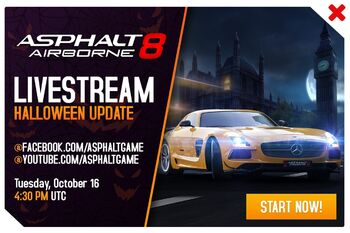 Halloween Update Livestream Promo