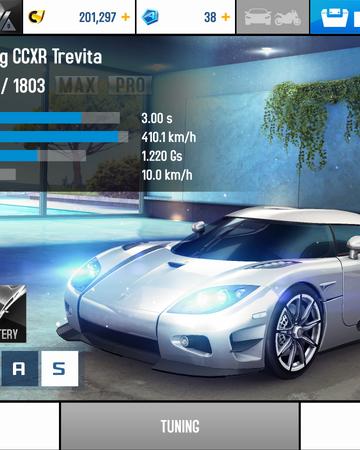 Koenigsegg Ccxr Trevita Asphalt Wiki Fandom