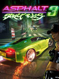 Asphalt 3 Street Rules cover art