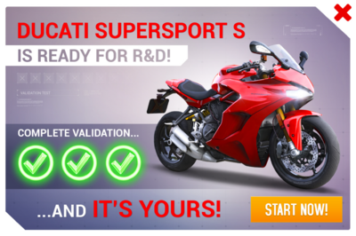 Ducati SuperSport S R&D Promo