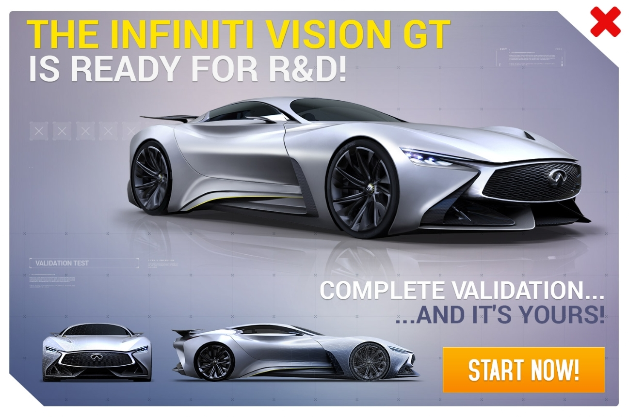 Research Amp Development Infiniti Vision Gt Asphalt Wiki Fandom Powered By Wikia