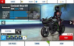 Ninja H2R stats (S MPH)