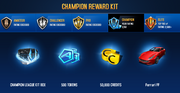 Ferrari FF Champion League Rewards