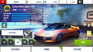 A8A Lotus Evora Sport 410 stock (BP)